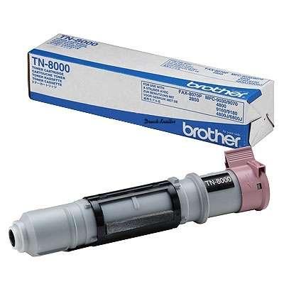 InkNu Brother TN-8000BK Black Original Tonerkassette