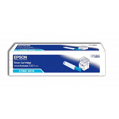 Epson C13S050318 Cyan Original Tonerpatron Epson AcuLaser CX 21 | InkNu