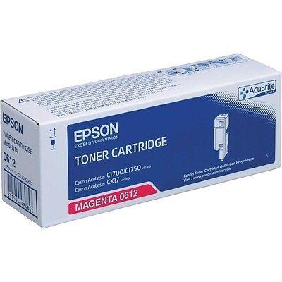 Epson C13S050612 Magenta Original Tonerpatron Epson AcuLaser C 1700 | InkNu