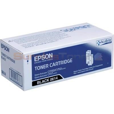 Epson C13S050614 Black Original Tonerpatron Epson AcuLaser C 1700 | InkNu