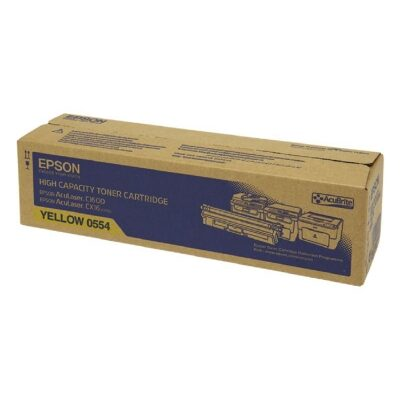 Epson C13S050554 Yellow Original Tonerkassette Epson AcuLaser C 1600 | InkNu