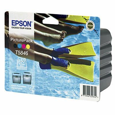Epson T5846 PicturePack (UDGÅET) Epson PictureMate 240 | InkNu
