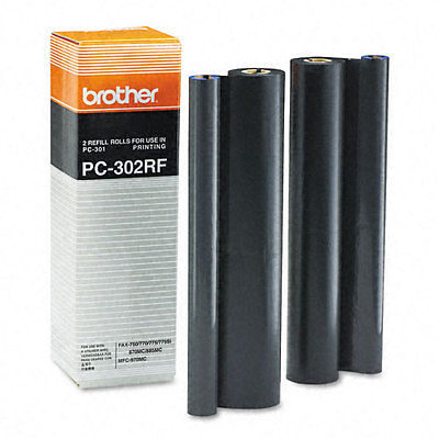 Brother PC302RF Original Farvebånd 2-pack Brother Fax 750 | InkNu