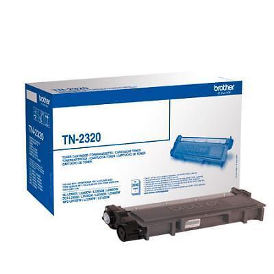 InkNu Brother TN-2320BK Black Original Tonerkassette