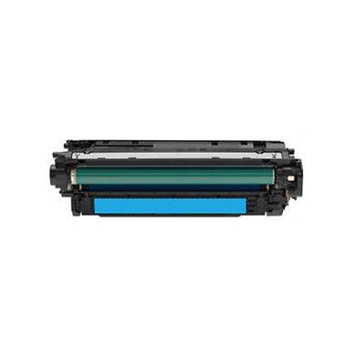 HP CF031A Cyan Kompatibel Tonerpatron HP Color LaserJet CM 4540   InkNu