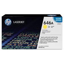 HP CF032A Yellow Original Tonerpatron HP Color LaserJet CM 4540 | InkNu