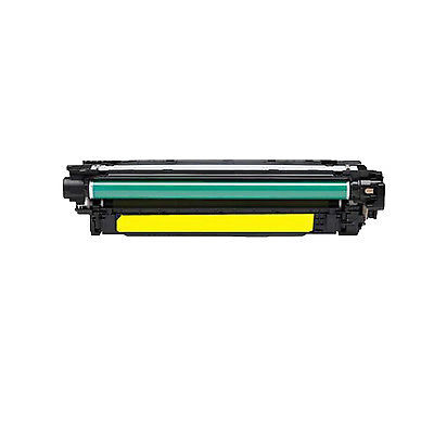 HP CF032A Yellow Kompatibel Tonerpatron HP Color LaserJet CM 4540   InkNu