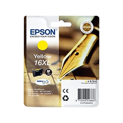 Epson 16XL Yellow Original Blækpatron Epson WorkForce WF 2010 | InkNu