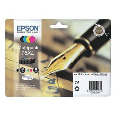 Epson 16XL Multipack 4-Farver Original Pakke Epson WorkForce WF 2010 | InkNu
