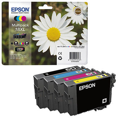 InkNu Epson 18XL Yellow Original Blækpatron
