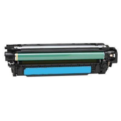 HP CE251A Cyan Kompatibel Tonerpatron HP Color LaserJet CM 3530   InkNu