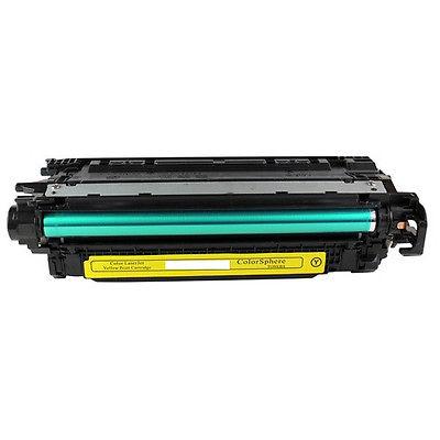 HP CE252A Yellow Kompatibel Tonerpatron HP Color LaserJet CM 3530 | InkNu