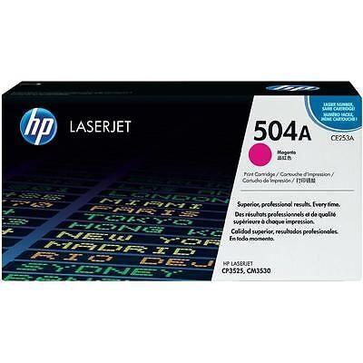 HP CE253A Magenta Original Tonerpatron HP Color LaserJet CM 3530   InkNu