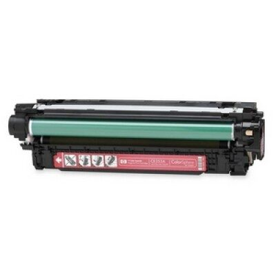 HP CE253A Magenta Kompatibel Tonerpatron HP Color LaserJet CM 3530   InkNu
