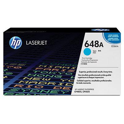 HP CE261A Cyan Original Tonerpatron HP Color LaserJet CP 4025 | InkNu