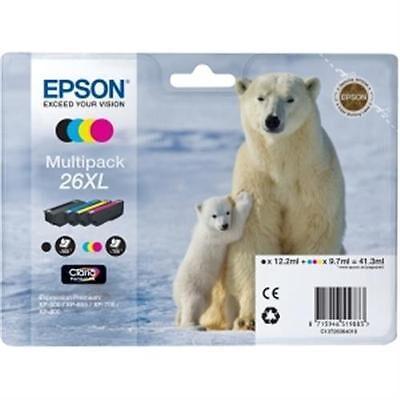 Epson 26XL Multipack 4-Farver Original Pakke Epson Expression Premium XP 510 | InkNu