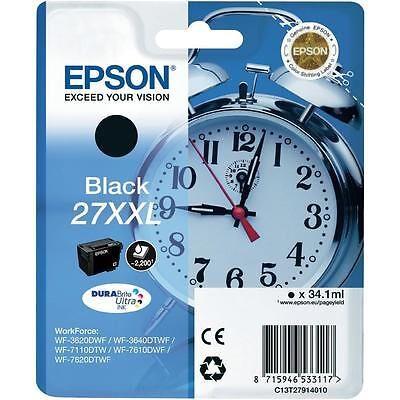 Epson 27XXL Black Original Blækpatron Epson WorkForce WF 3600 | InkNu