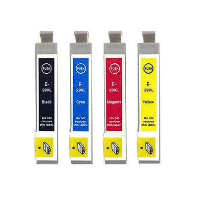 InkNu Epson 29XL Kompatibel Patronpakke 4 stk.