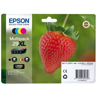 InkNu Epson 29XL Multipack Original Patronpakke
