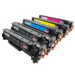 InkNu HP 304A Serie Kompatibel Toner