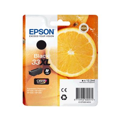 Epson 33XL Black Original Blækpatron Epson Expression Premium XP 530 | InkNu