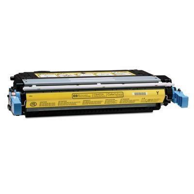HP CB402A Yellow Kompatibel Tonerpatron HP Color LaserJet CP 4005 | InkNu
