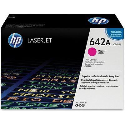 HP CB403A Magenta Original Tonerpatron (UDGÅET) HP Color LaserJet CP 4005 | InkNu
