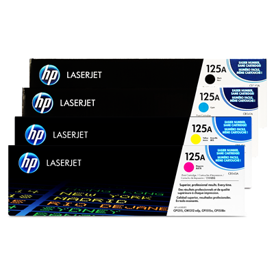 HP 125A Cyan Original Tonerpatron HP Color LaserJet CM 1300 | InkNu