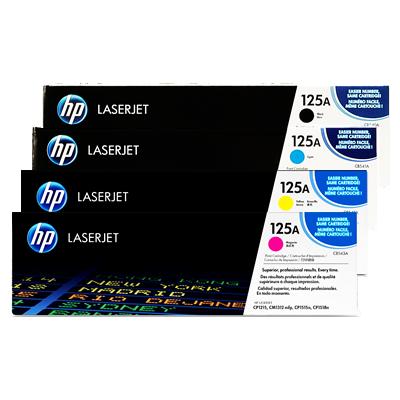 HP 125A Black Original Tonerpatron HP Color LaserJet CM 1300 | InkNu