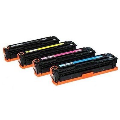 HP 125A Yellow Kompatibel Tonerpatron HP Color LaserJet CM 1300 | InkNu