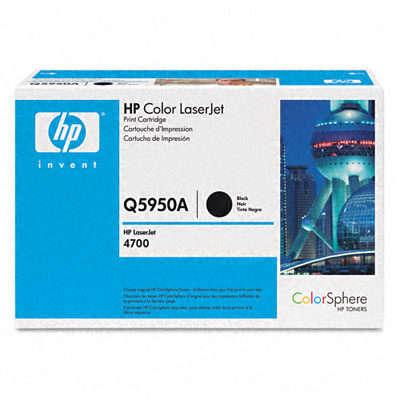 HP Q5950A Black Original Tonerpatron HP Color LaserJet 4700 | InkNu