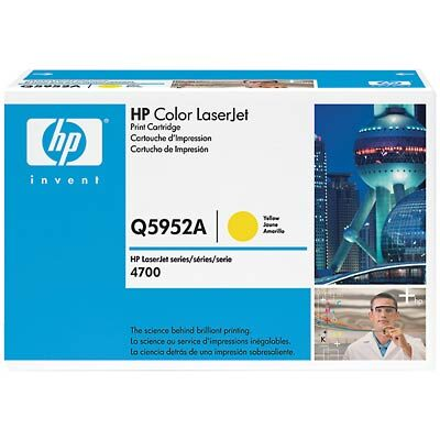 HP Q5952A Yellow Original Tonerpatron HP Color LaserJet 4700 | InkNu