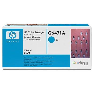 HP 502A Cyan Original Tonerpatron (UDGÅET) HP Color LaserJet 3600 | InkNu