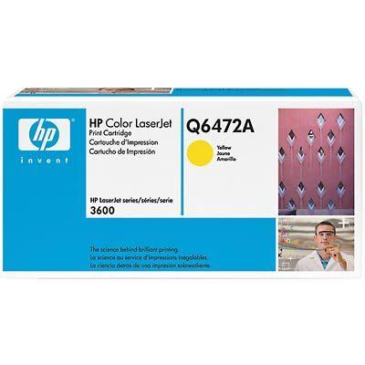 HP 502A Yellow Original Tonerpatron HP Color LaserJet 3600 | InkNu