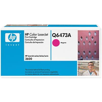 HP 502A Magenta Original Tonerpatron (UDGÅET) HP Color LaserJet 3600 | InkNu
