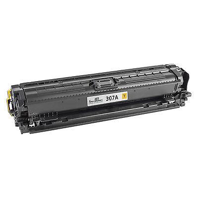 HP CE742 Yellow Kompatibel Tonerpatron HP Color LaserJet CP 5220   InkNu