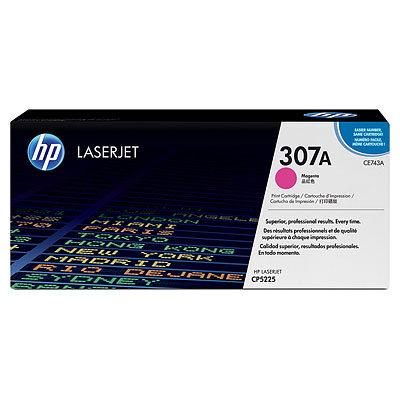 HP CE743 Magenta Original Tonerpatron HP Color LaserJet CP 5220 | InkNu