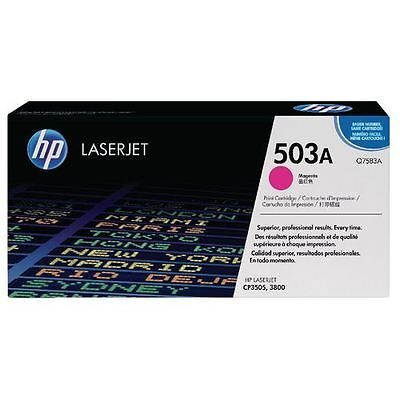 HP Q7583A Magenta Original Tonerpatron (UDGÅET) HP Color LaserJet 3800 | InkNu