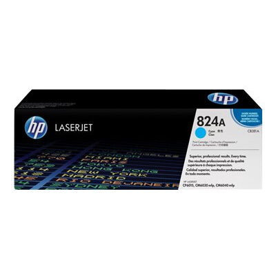 HP CB381A Cyan Original Tonerpatron HP Color LaserJet CM 6030 | InkNu