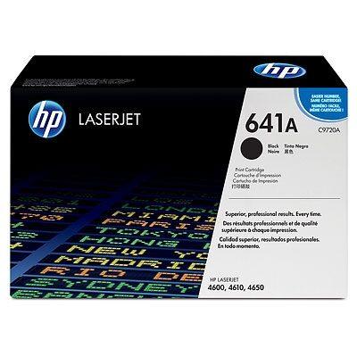 HP C9720A Black Original Tonerpatron (UDGÅET) HP Color LaserJet 4600 | InkNu