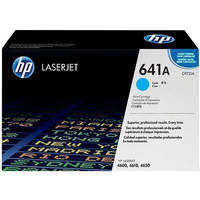 HP C9721A Cyan Original Tonerpatron (UDGÅET) HP Color LaserJet 4600 | InkNu