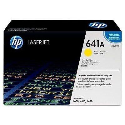 HP C9722A Yellow Original Tonerpatron (UDGÅET) HP Color LaserJet 4600 | InkNu