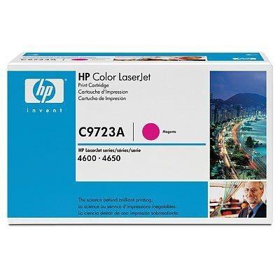 HP C9723A Magenta Original Tonerpatron (UDGÅET) HP Color LaserJet 4600 | InkNu