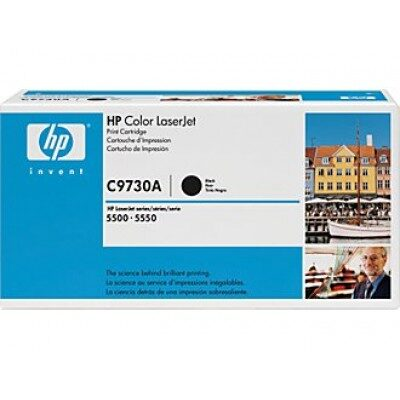 HP C9730A Black Original Tonerpatron HP Color LaserJet 5500 | InkNu