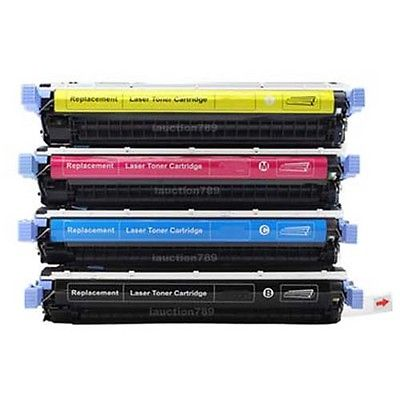 HP C9730A/31/32/33 Serie 4 Stk. Kompatibel Tonerpatron HP Color LaserJet 5500   InkNu