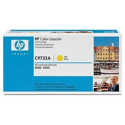 HP C9732A Yellow Original Tonerpatron HP Color LaserJet 5500 | InkNu