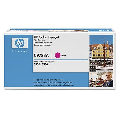 HP C9733A Magenta Yellow Original Tonerpatron HP Color LaserJet 5500 | InkNu