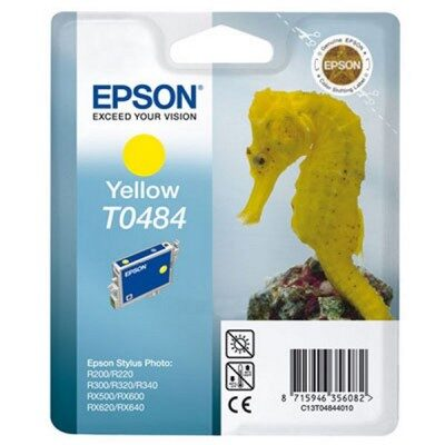 Epson T0484 Yellow Original Blækpatron Epson Stylus Photo R200 | InkNu