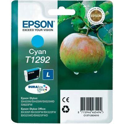 Epson T1292 Cyan Original Blækpatron Epson Stylus NX 305 | InkNu