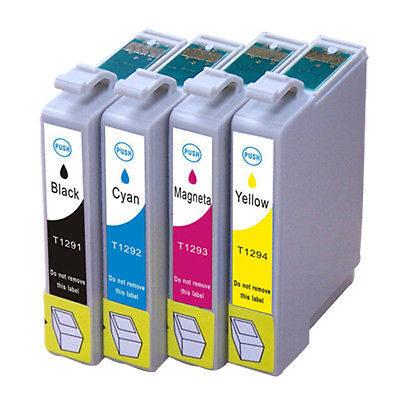 Epson T1291 Black Kompatibel Blækpatron Epson Stylus NX 305 | InkNu